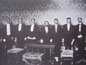 Madero y su Gabinete